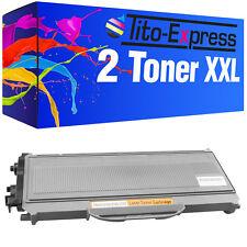 2 toner pour brother tn2120 dcp7030 dcp7040 hl2140 hl2150n hl2170w mfc-7340 7440n