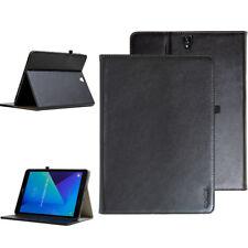 Premium Leder Cover Samsung Galaxy Tab S2 Schutzhülle Tasche Tablet +Schutzfolie