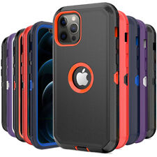 For iPhone 12 Pro Max 13 11 Pro Max XR XS MAX Case Rugged Shockproof Armor Cover