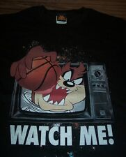 WB LOONEY TUNES TAZ Tasmanian Devil BASKETBALL SPACE JAM T-Shirt MEDIUM NEW