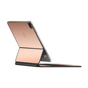 SopiGuard 3M Avery Sticker Skin for 2021 2020 Apple iPad Pro Magic Keyboard 12.9