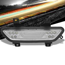 Clear Lens/Chrome Housing 3D LED Tail Third Brake Light for 15-18 Ford Mustang