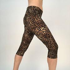 Yoga Capri Legging Crop Women Pants Gym Workout Fitness Exercise Wear XS CLS-6