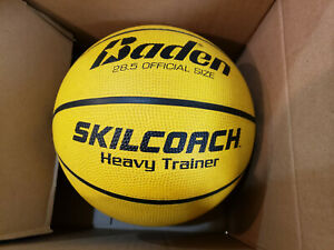 Baden SkilCoach Heavy Trainer Rubber Basketball 28.5-Inch