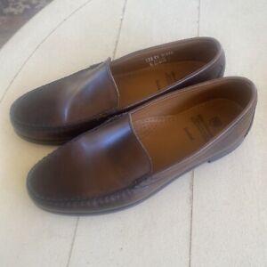 Allen Edmonds SANIBEL Loafers Mens Size 12D Dark Brown Leather Dress Shoes 21599