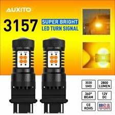 3157 Amber Yellow 14 Smd Led Drl Turn Signal Light High Power T25 1156 4114 4157