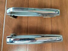 Toyota Celica TA22 TA23 outer exterior door handle metal chrome Genuine 1 pair