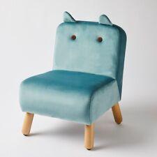Jiggle & Giggle Kids Chair Teal With Ears