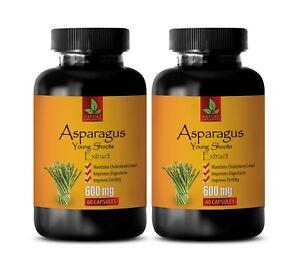 blood sugar balance - ASPARAGUS YOUNG SHOOTS - asparagus extract capsules 2 BOTT