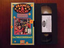 Satiricosissimo (Franco Franchi, Ciccio Ingrassia) - VHS De Agostini rara