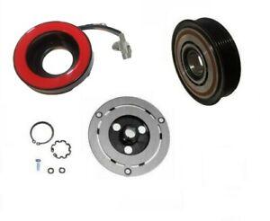 AC Compressor Clutch Kit Pulley Coil Hub Fits: 2013 - 2019 SUBARU BRZ 4CYL 2.0L