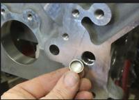 NEW LS1 LS2 LS6 LS3 LQ4 LQ9 Engine Block Front Oil Gallery Plug BILLET REUSABLE
