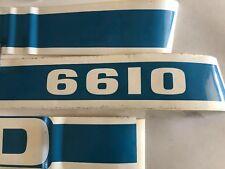 Ford 6610 Hood Decal Set