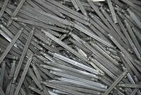 """200 KNEX Gray Granite Rods 3-7/16"""" Screamin Serpent Replacement Parts 86mm"""