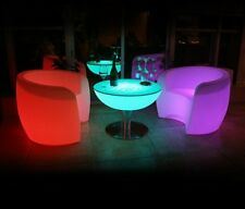 LED Designer Cocktail Lounge Couchtisch Wohnzimmertisch Beistelltisch