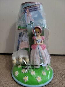 "NEW ""Toy Story 4"" BO PEEP and SHEEP LAMP Table Light Sealed Disney Pixar Replica"