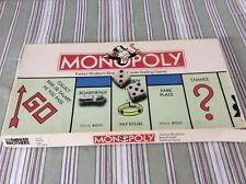 #0009 Original Parker Brothers Monopoly Board Game 1985 WOW CLEAN! Complete!