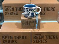 Starbucks BEEN THERE SERIES BTS Ornament - RHODE ISLAND 2oz Mini Mug NWT