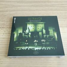 Ultravox_Monument_CD + DVD Remastered Definitive Edition_2009 Sigillato Sealed