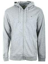 Herren Sweatshirt Hoodie Tommy Hilfiger Classic Zip Grau DM0DM06107-038