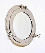 """11"""" Porthole Mirror Chrome Finish ~ Aluminum Porthole ~ Nautical Decor ~Porthole"""