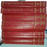 GG ENCICLOPEDIA: I Rioni e i Quartieri di Roma 8 vol Ed: Newton Compton Editori