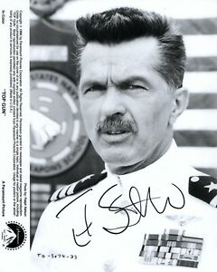 TOM SKERRITT signed Autogramm 20x25cm TOP GUN In Person autograph COA