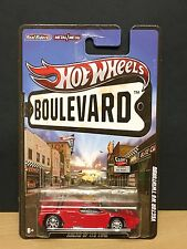 Hot Wheels Vector W8 Twinturbo 2012 Boulevard Real Riders Red 1:64 8+