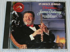 JAMES GALWAY In Dulce Jubilo - Christmas with James Galway (CD 1991) MADE IN USA