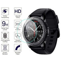 2-Pack Tempered Glass Film Screen Protector For Samsung Galaxy Watch 46/42mm S3