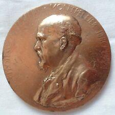 Médaille Bronze Médecine Professeur TEDENAT 1922  ORIGINAL FRENCH MEDAL