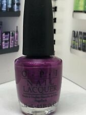 """Opi Nail Lacquer """"Nl B55 Plugged-In Plum"""" Brights Collection 2006 Htf New!"""
