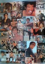 RARE BRUCE LEE MARTIAL ARTS 1974 VINTAGE ORIGINAL COLLAGE PIN UP POSTER