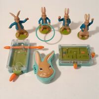 Peter Rabbit McDonald's Happy Meal Toys 2018 Australia