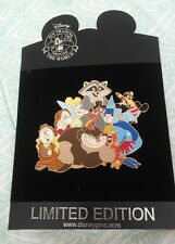 "Very Rare JUMBO Disney ""Characters with Attitude"" pin, new on card"
