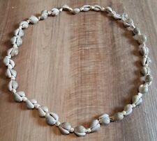 Women's Cowrie Shell Necklace Beach Summer Wear Repair Reuse