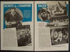 Lou Meyer *Secrets of a Champion Racer* Indy 500 Champ original 1940 article