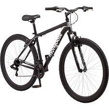 """29"""" Men's Mongoose Excursion Bike 21 Speed Black"""