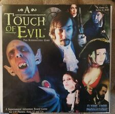 A Touch Of Evil Game - Used excellent Condition Complete board game