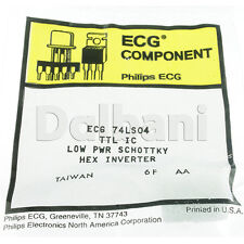 Ecg74Ls04 Original New Philips Integrated Circuit Equivalent to Nte74Ls04 Ecg