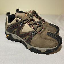 Merrell Continuum Hiking Womens Shoes 8.5 Brown Black Vibram Qform Air Cushion