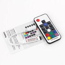 Mini 17 Keys RF Wireless Remote Control For 3528 / 5050 SMD LED RGB Strip Light