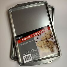 2 - 9x13 Cooking Concepts Bake Cookie & Baking Sheets. New Lot Of 2 New Kitchen