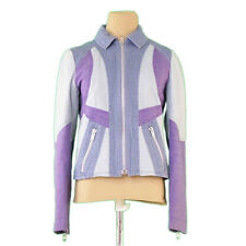 Francesco Biasia Coats Jackets Blue Purple Woman Authentic Used P694