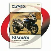 1986-1993 Yamaha FJ1200 Repair Manual Clymer M397 Service Shop Garage