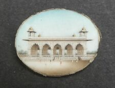 NICE 19TH CENTURY ANGLO INDIAN / MUGHAL MINIATURE PAINTING - MECCA MASJID MOSQUE
