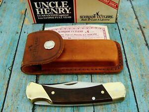 SCHRADE USA UNCLE HENRY LB7 BEAR PAW LOCKBACK FOLDING POCKET KNIFE KNIVES MIB