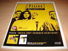 4AD - PIXIES  MUSIC THAT CHANGED!!!! PUBLICITE / ADVERT