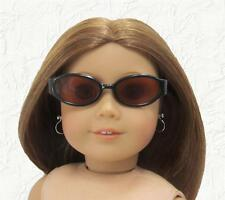 Doll Clothes Sunglasses Black Plastic Frames Fit 18 inch American Girl Doll