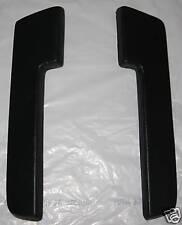 """Mopar Dodge Plymouth Black 10.5"""" Armrest Pads  Arm Rest Pads  1964 65 A B C body"""